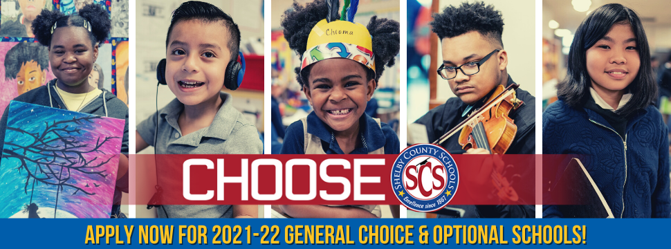 Apply now for 2021-22 School Choices banner
