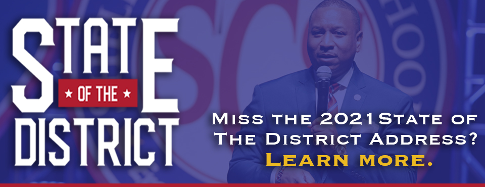 Miss the State of the District? Learn more here. banner