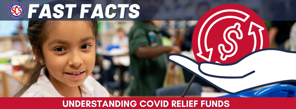 COVID Relief Fund Fast Facts banner